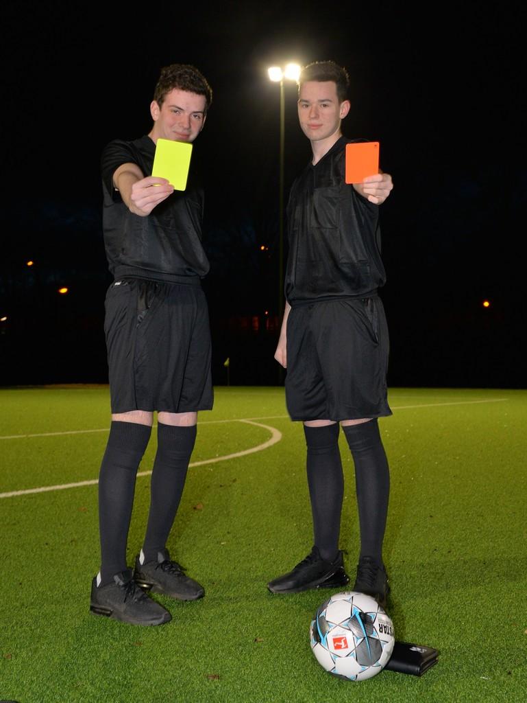 Niclas Buschmann und Marc Saueressig. Foto: Michal Fuchs