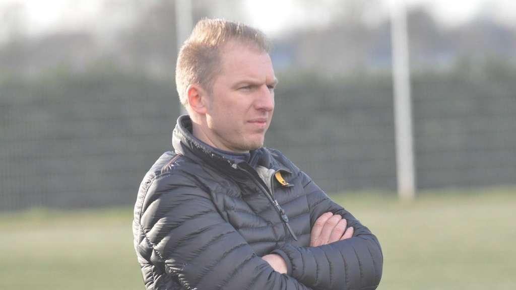 """""""Hier herrscht absolute Ruhe"""", sagt Vilsens Coach Patrick Tolle. Er ist erst einmal froh, dass es in der Coronakrise so langsam wieder bergauf geht. FOTO: REHNERT"""