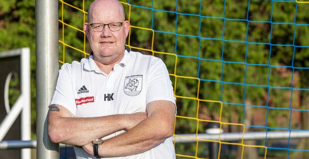Im Tor zuhause: Hilmar Knolle ist als Torwarttrainer in der Landesliga aktiv. (Thorin Mentrup)
