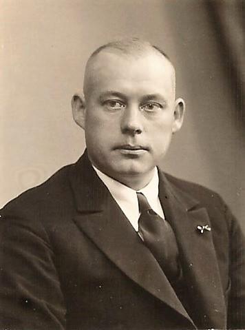 1. Vorsitzender Hermann Wülbers 1935