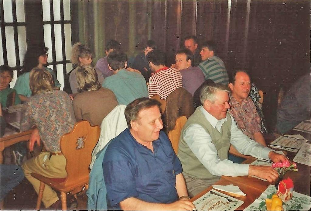 Freundschaftsbesuch des SVBV in Chemnitz 1990