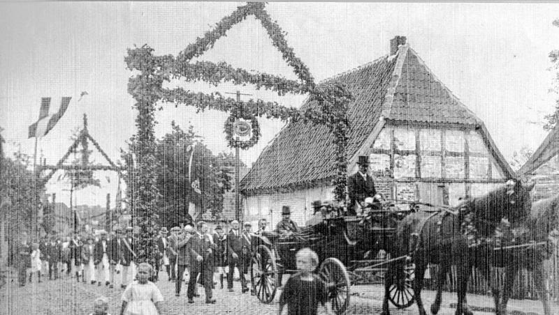 Ein Bild aus alten Zeiten: Im Jahr 1920 wurde der SV Bruchhausen-Vilsen gegründet. Heute wird er 100 Jahre alt.