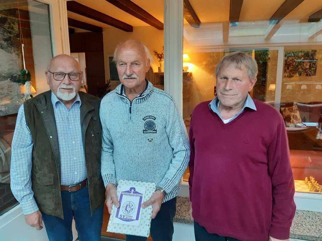 Von links nach rechts: Dieter Borcherding, Heinrich Garbers, Hermann Mügge