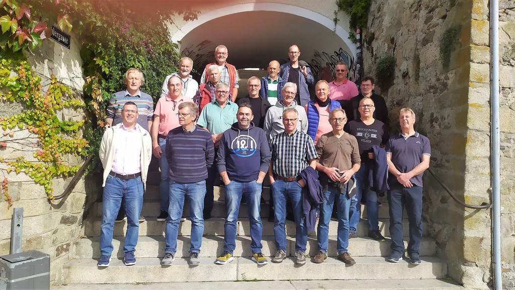 Mannschaftsfoto der Teilnehmer in Passau 2021